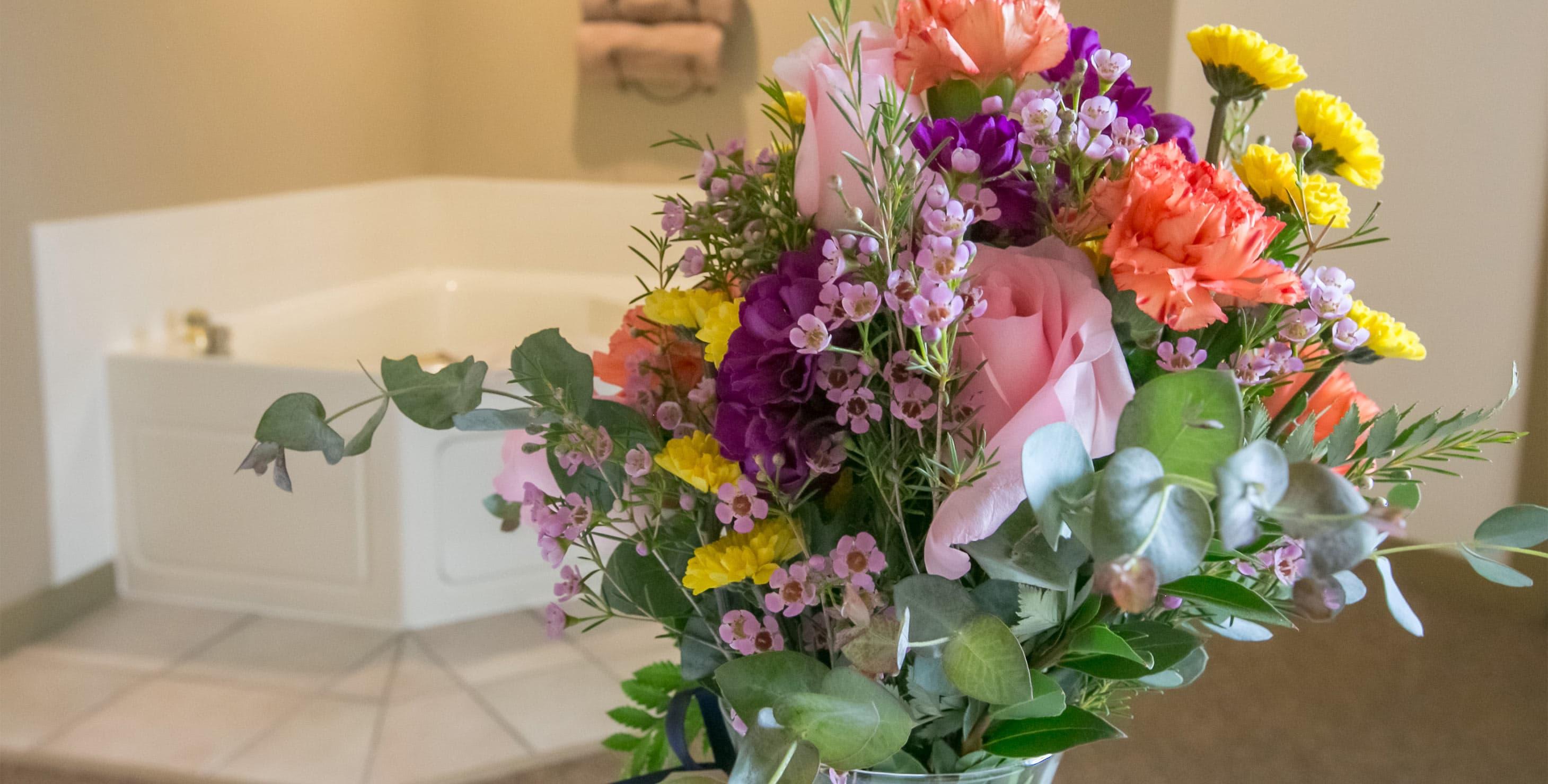 Flowers at Berlin Heritage Inn