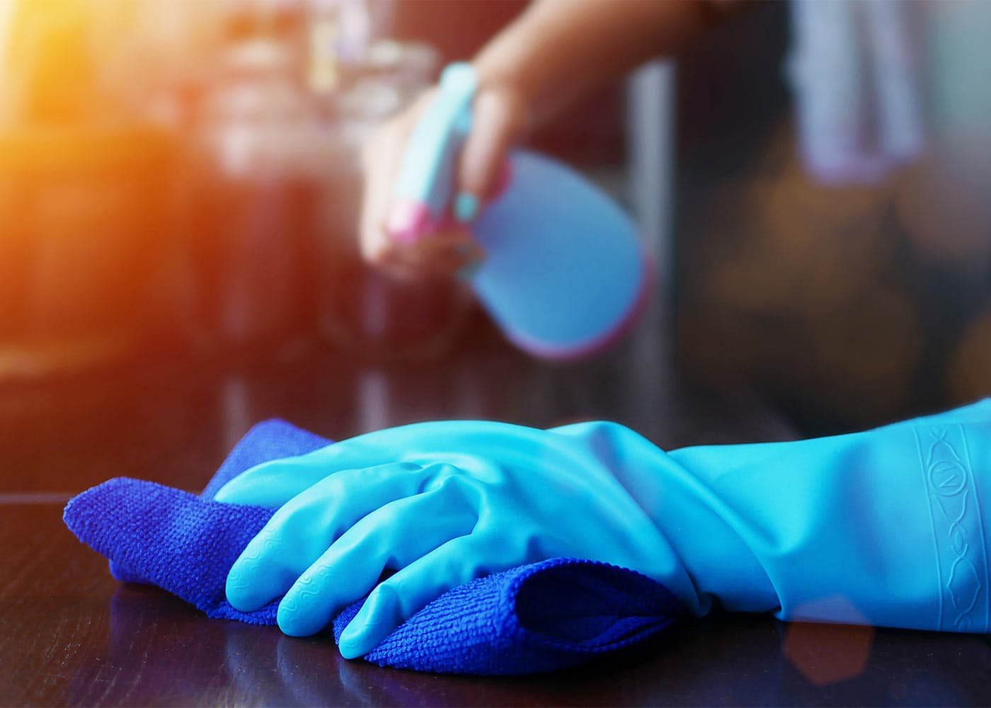 Enhanced Cleaning by our staff