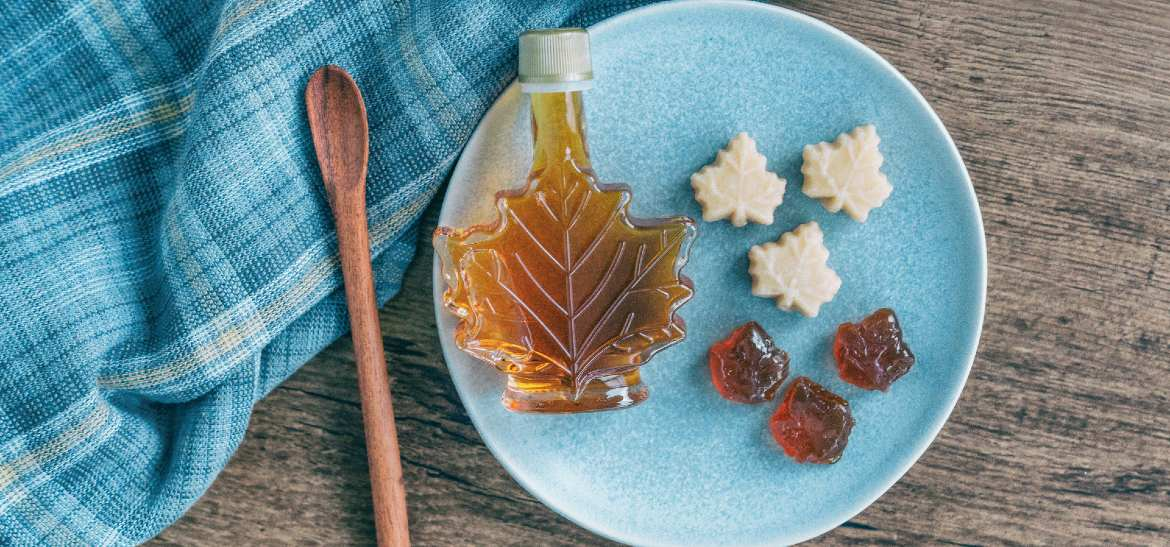 maple syrup and candy